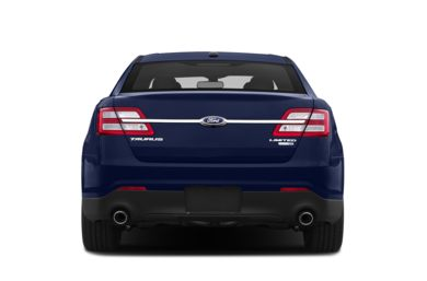 Rear Profile  2013 Ford Taurus