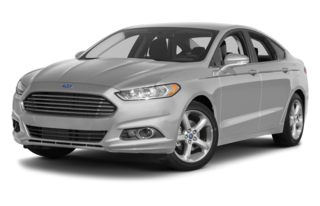 3/4 Front Glamour 2014 Ford Fusion