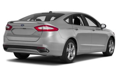 3/4 Rear Glamour  2014 Ford Fusion
