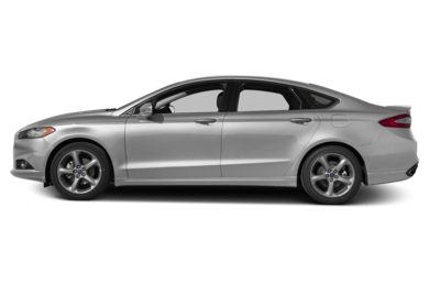 90 Degree Profile 2014 Ford Fusion