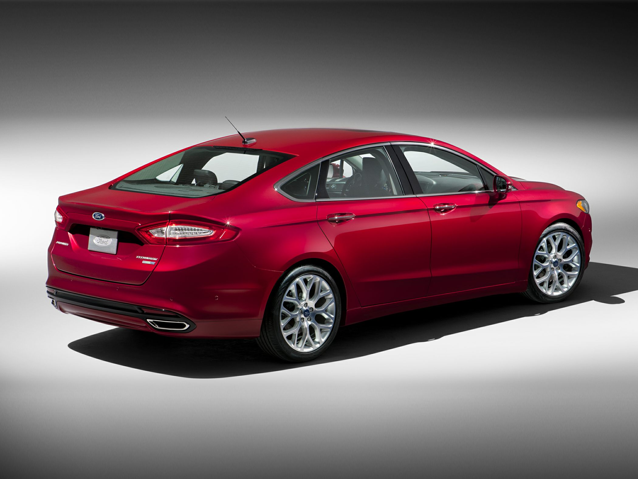 2015 Ford Fusion Rear