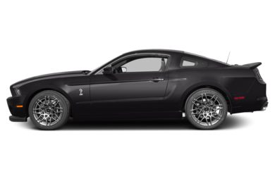 90 Degree Profile 2013 Ford Shelby GT500