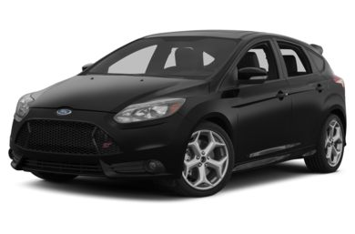 3/4 Front Glamour 2013 Ford Focus ST