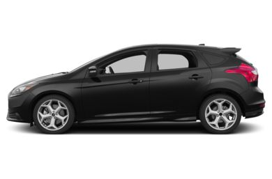 90 Degree Profile 2013 Ford Focus ST