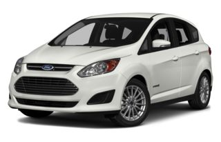 3/4 Front Glamour 2013 Ford C-Max Hybrid