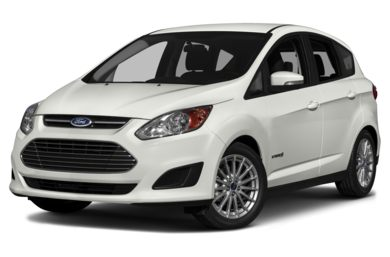 3/4 Front Glamour 2014 Ford C-Max Hybrid