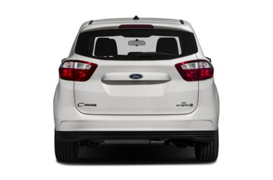 Rear Profile  2013 Ford C-Max Hybrid
