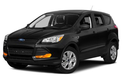 3/4 Front Glamour 2013 Ford Escape