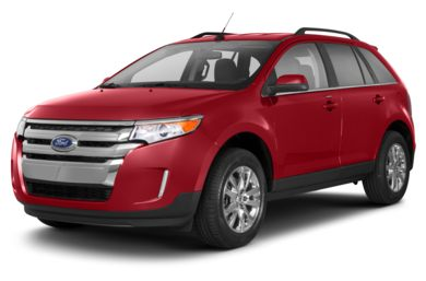 3/4 Front Glamour 2013 Ford Edge