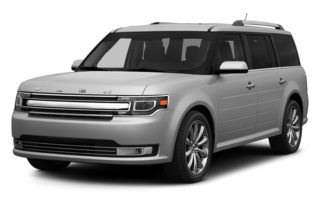 3/4 Front Glamour 2013 Ford Flex