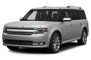 3/4 Front Glamour 2014 Ford Flex