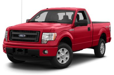 3/4 Front Glamour 2013 Ford F-150
