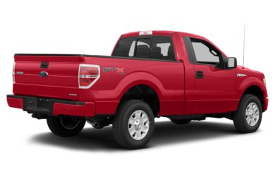 3/4 Rear Glamour  2013 Ford F-150