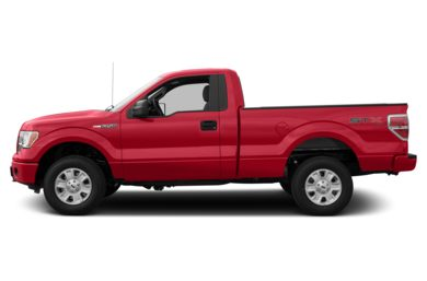 90 Degree Profile 2013 Ford F-150