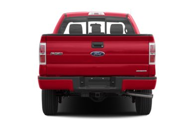 Rear Profile  2013 Ford F-150