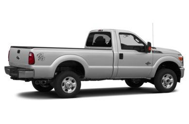 3/4 Rear Glamour  2013 Ford F-350