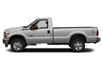90 Degree Profile 2013 Ford F-350