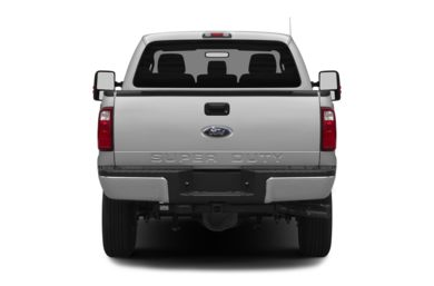 Rear Profile  2013 Ford F-350