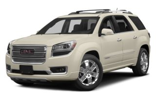 3/4 Front Glamour 2013 GMC Acadia