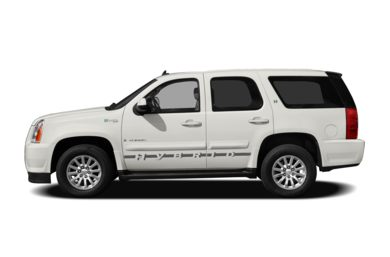 90 Degree Profile 2013 GMC Yukon Hybrid