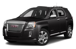 3/4 Front Glamour 2013 GMC Terrain
