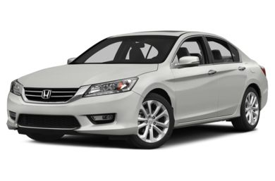 3/4 Front Glamour 2013 Honda Accord