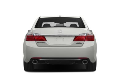 Rear Profile  2015 Honda Accord
