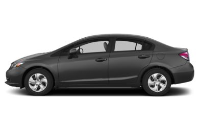 90 Degree Profile 2013 Honda Civic