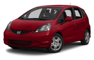 3/4 Front Glamour 2013 Honda Fit