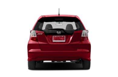 Rear Profile  2013 Honda Fit
