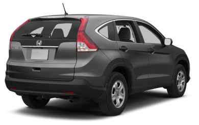 3/4 Rear Glamour  2013 Honda CR-V