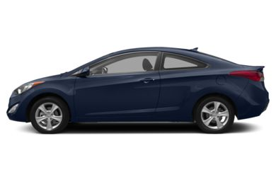90 Degree Profile 2013 Hyundai Elantra Coupe