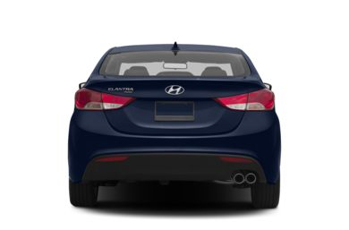 Rear Profile  2013 Hyundai Elantra Coupe