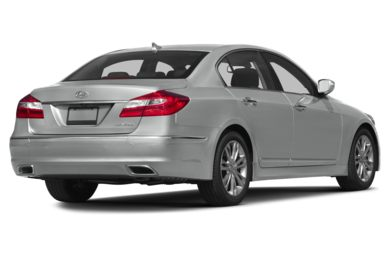 3/4 Rear Glamour  2013 Hyundai Genesis Sedan