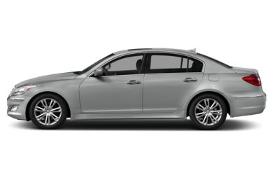 90 Degree Profile 2013 Hyundai Genesis Sedan