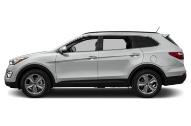 90 Degree Profile 2013 Hyundai Santa Fe