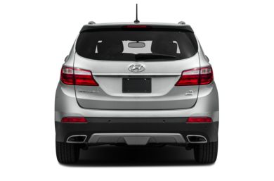 Rear Profile  2013 Hyundai Santa Fe