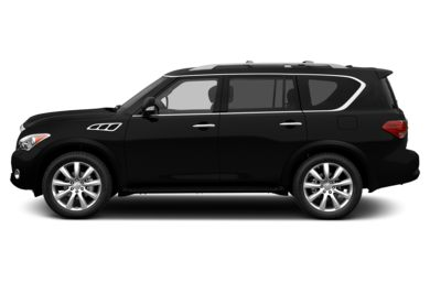90 Degree Profile 2013 INFINITI QX56