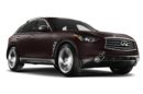 3/4 Front Glamour 2013 Infiniti FX50