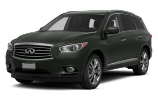 3/4 Front Glamour 2013 Infiniti JX35