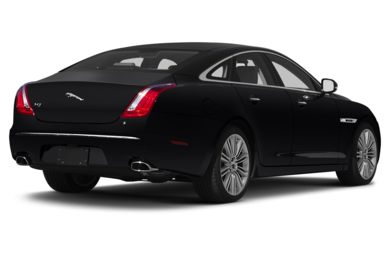 3/4 Rear Glamour  2013 Jaguar XJ