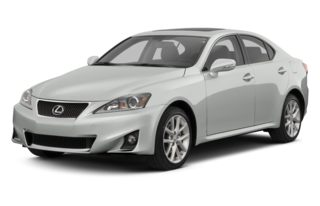 3/4 Front Glamour 2013 Lexus IS 350