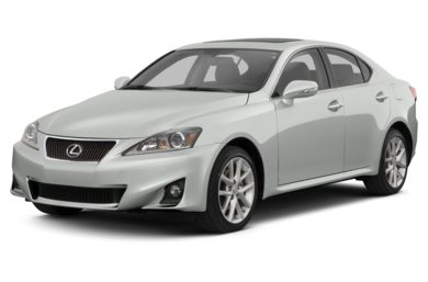 3/4 Front Glamour 2013 Lexus IS 250