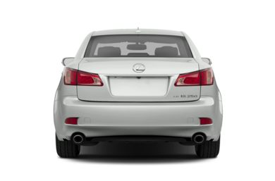Rear Profile  2013 Lexus IS 250