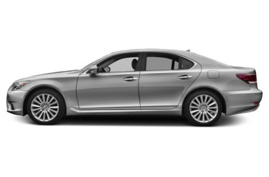 90 Degree Profile 2013 Lexus LS 460