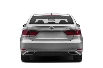 Rear Profile  2013 Lexus LS 460