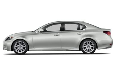 90 Degree Profile 2014 Lexus GS 450h