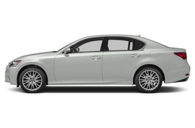 90 Degree Profile 2014 Lexus GS 350