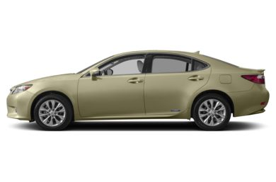 90 Degree Profile 2015 Lexus ES 300h