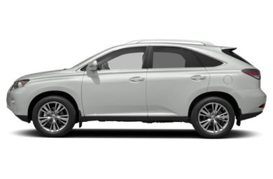 90 Degree Profile 2013 Lexus RX 350